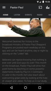 Screenshots - PastorPaul.net