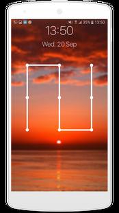 Screenshots - pattern lock screen