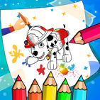 Paw Heroes  Pups Coloring Book