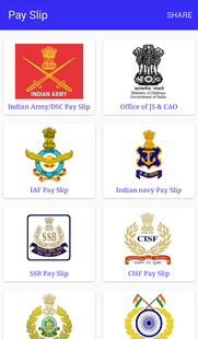 Screenshots - PaySlip ALL DEFENCE FORCES