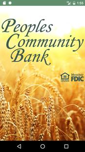 Screenshots - Peoples Community Bank