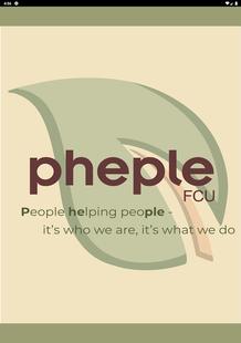 Screenshots - Pheple Federal Credit Union