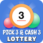 Pick 3 & Cash 3 Lottery App