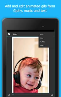 Screenshots - PicPlayPost Video Editor, Slideshow, Collage Maker