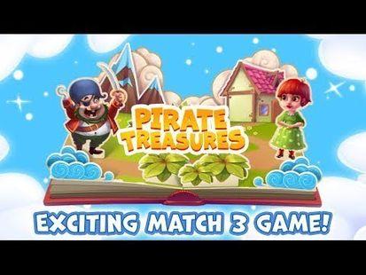 Video Image - Pirate Treasures - Gems Puzzle