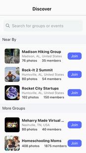 Screenshots - Pixz - Group & Event Photo Sharing