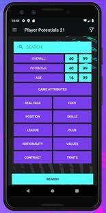 Screenshots - Player Potentials 21