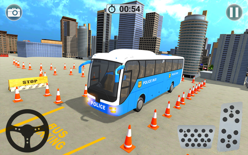 Screenshots - Police Bus Parking Game - Police Bus Driver