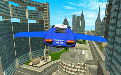 Screenshots - Police Flying Cars Futuristic Sim 3D