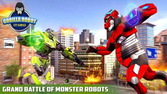 Screenshots - Police Gorilla Robot Hero Transform: City Rampage