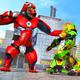 Police Gorilla Robot Hero Transform: City Rampage