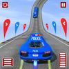 Police Limo Car Mega Ramp Racing Game