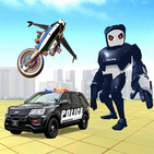 Police Panda Robot Game:Panda Robot Transformation