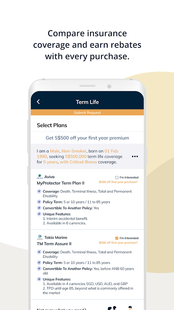 Screenshots - PolicyPal - Your Digital Financial Planner