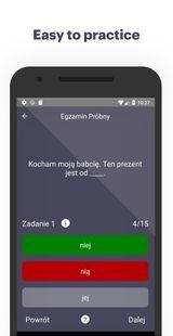 Screenshots - Polish B1 Exams and Tests