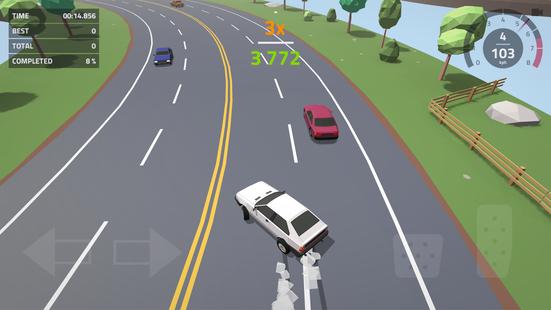 Screenshots - Polygon Drift: Endless Traffic Racing