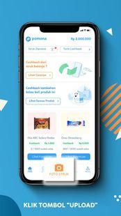 Screenshots - Pomona: Upload Struk Belanja Dapat Cashback