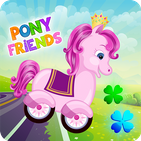 Pony Friends 🦄 - car game for kids