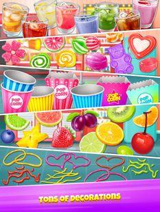 Screenshots - Popcorn Maker - Yummy Rainbow Popcorn Food
