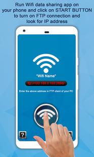 Screenshots - Portable Wifi File Transfer – Data Sharing