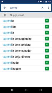 Screenshots - Portuguese English Dictionary & Translator Free