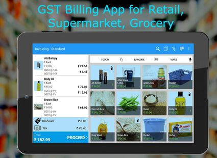 Screenshots - POS Billing APP - Just Billing Point of sale