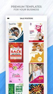 Screenshots - Poster Maker, Flyer Maker and Graphic Design App