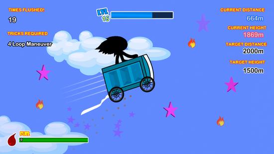 Screenshots - Potty Launch 3:Cart Hero Learn To Fly