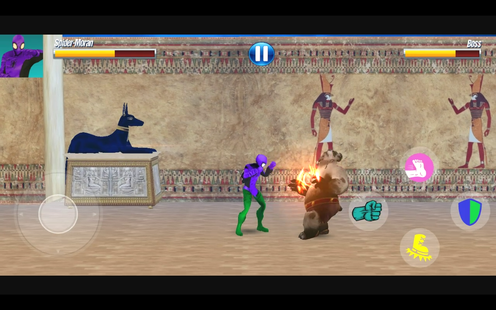 Screenshots - Power Amazing Frog Spider Rope Fight