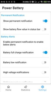 Screenshots - Power Battery