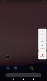 Screenshots - Power Menu : Software Power Button Shortcut