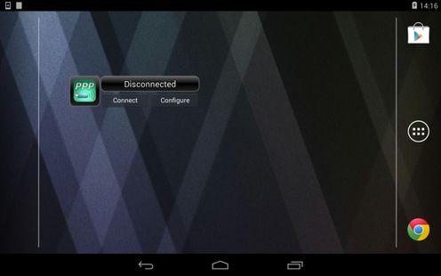 Screenshots - PPP Widget (discontinued)