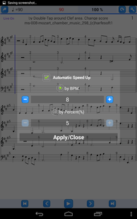 Screenshots - Practice Player Live Midi