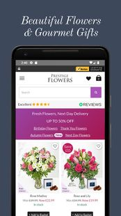 Screenshots - Prestige Flowers