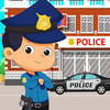 Pretend in Police Station: Fun Learning City