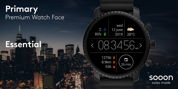 Screenshots - Primary Watch Face