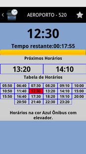 Screenshots - Próximo Ônibus Juiz de Fora