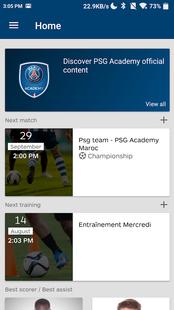 Screenshots - PSG Academy X My Coach