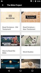 Screenshots - Public Reading of Scripture