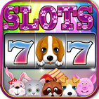 Puppy Slots - Happy Pet - Vegas Slot Machine Games