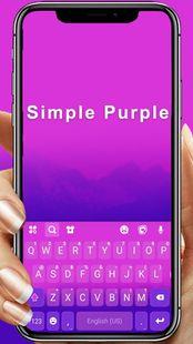 Screenshots - Purple Gradient Keyboard Theme