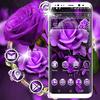 Purple Rose Launcher Theme