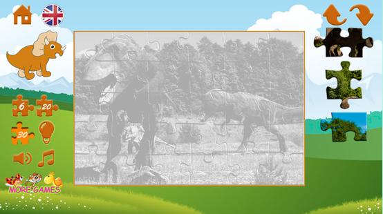 Screenshots - Puzzles dinosaurs