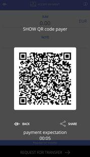 Screenshots - QR-POS mWallet