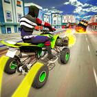 Quad Bike Shooting Racing Simulator: ATV Quad Bike
