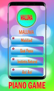 Screenshots - Qué Pena - Maluma Piano game 🎹