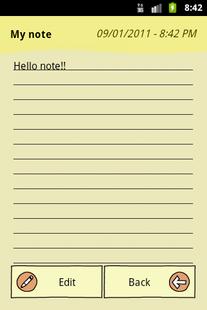 Screenshots - QuickNote Notepad Notes