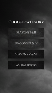 Screenshots - Quiz for GoT