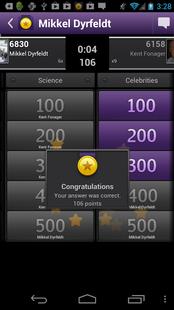 Screenshots - Quizmo - free trivia quiz game