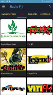 Screenshots - Radio Fiji